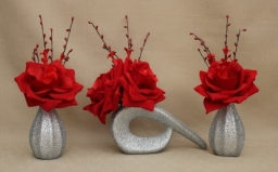 Artificial Flowers Red Roses