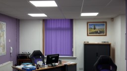 SureCare, Chorley - New LED Panel lighting
