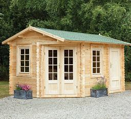 Ripon log cabin