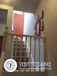 Hall, Stairs & Landing Painted & Decorated London