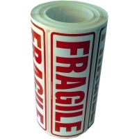 Fragile labels, this-way-up and many other printed labels, wholesale quantities
