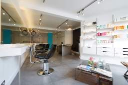 Material Hair Salon Interior