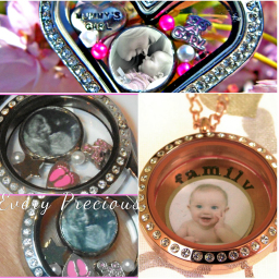 Photo Memory Locket Charms