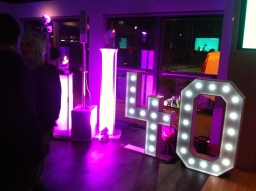 S.O.M. Photo Booth Hire Giant LED 40 Numbers For H
