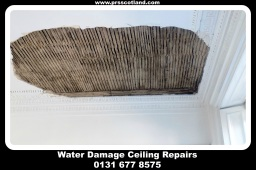 water damage ceiling repairs