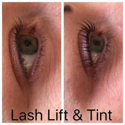 lash lift & tints