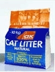AK Cat Litter White Bentonite Super Clumping