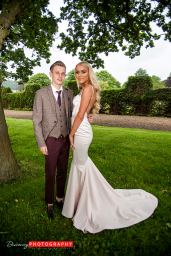Portrait at Gisbrough hall prom 2016