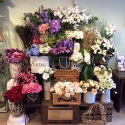 Artificial flower selection