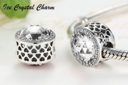 Ice Crystal Charm