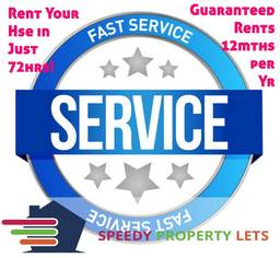 We can rent your property fast!