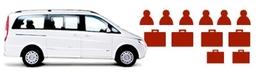 Executive People Carrier 6 Seater Minivan Heathrow Taxi