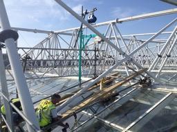 N.U.F.C. roof repairs