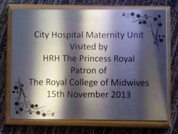 Etched Stainless Steel Plaques
