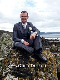 Dundalk groom photograph from Blackrock beach