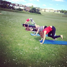 Fitness bootcamp in the sunshine!