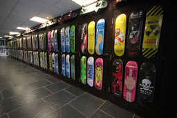 Hardcore Hobbies Skateboard Wall