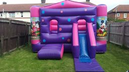 Mickey and Minni bouncy castle hartlepool