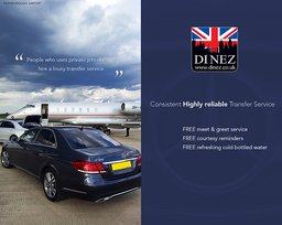 Airport Transfers at Farnborough Airport by Dinez