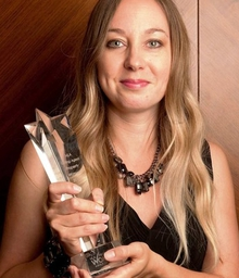 Managing Director Claire Empson wins the Letting Agent Category in the NLA Property Women of the Year Awards 2010