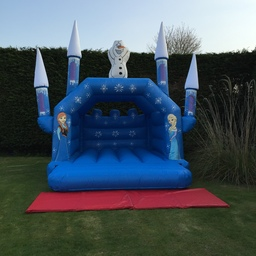Frozen Turreted Bouncy Castle