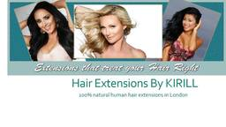 Natural hair extensions in London