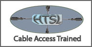 Cable Access Trained For Gutter Cleaning