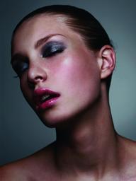 Beauty Shoot Hair & make up Lipstick and Curls