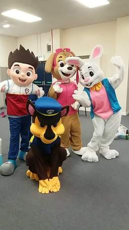 mascots paw patrol