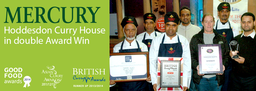 Mercury Hoddesdon Curry House in Double Award Win