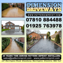 pattern imprinted driveways north west