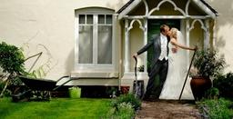 Shropshire country wedding photography