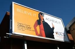 UCB Poster campaign