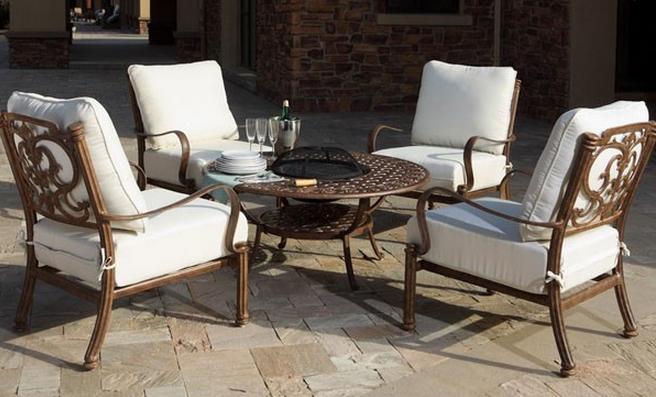 Aluminium Garden Furniture. The Garden Furniture Centre in Stratford Road  Wootton Wawen