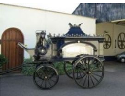 horse drawn carriage's available.