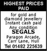 Segals Jewellers
