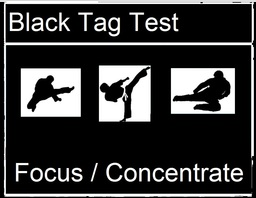Black Tag for FOCUS