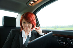 Corporate chauffeur taxi driven service in Kent