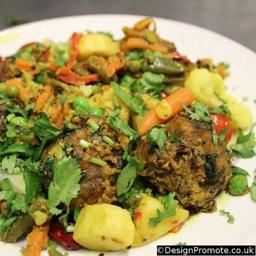 Bayofbengal Indian Restaurant Vegetable Sag Kuftha