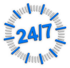 Express Removals 247 are open 24 Hours a day