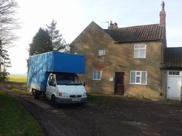 removals hull on a local 4 bed farmhouse