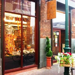 Cream and Browns Florist Shop Middlesbrough