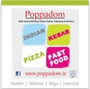 poppadom Indian takeaway