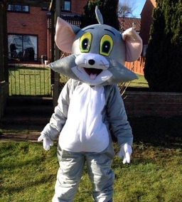 Tom mascot costume from £40