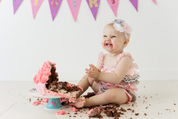 cake smash photography Edinburgh