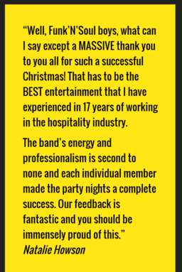 Testimonial from talent agent.