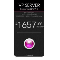 Virtual Private Server 750GB