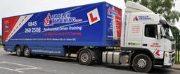 C+E Training with Minibus Training UK in Berkshire