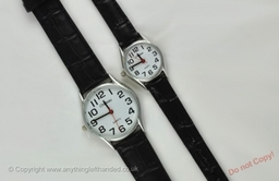 Left handed watches