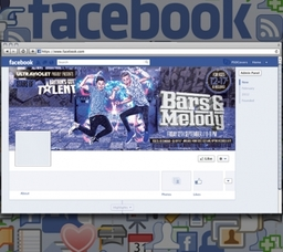 Facebook banner design Falkirk, Edinburgh, Glasgow and Stirling